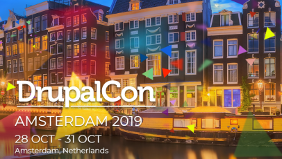 Save the date: DrupalCon 2019 Amsterdam